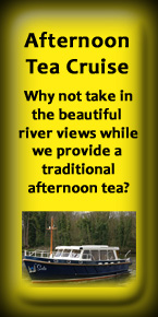 Boat Hire with Afternoon Tea in Maidenhead